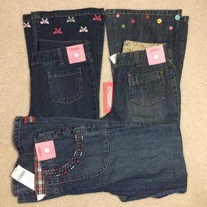 NWT Gymboree jeans bundle size 12